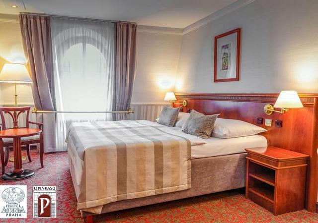 Adria Hotel Prague | Prague | Пребывание в центре Праги на двоих