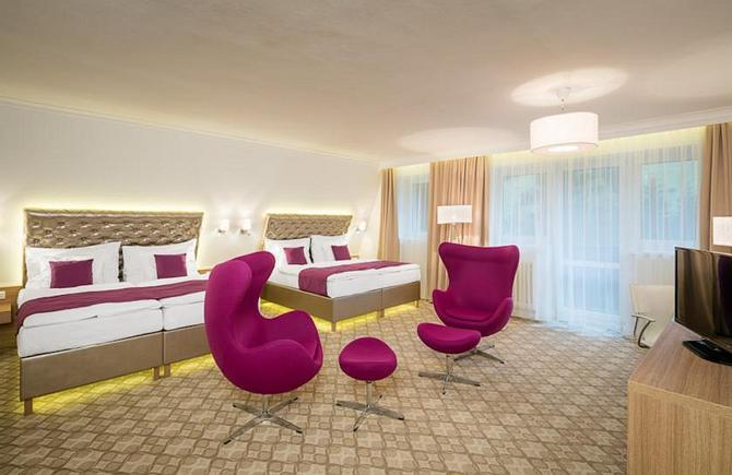 Deluxe pokój czteroosobowy