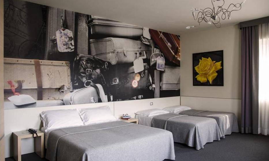 Key Hotel  | Vicenza | Rooms for 4 People