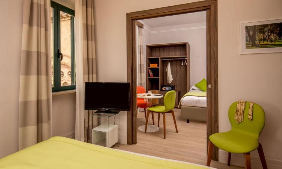 Villa Grazioli Boutique Hotel | Rome | Junior Family Room Superior