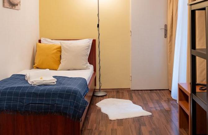 Standardní jednolůžkový pokoj