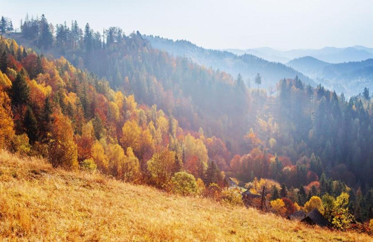 Ośrodek Zagroń | Szczyrk | Jesień w beskidach